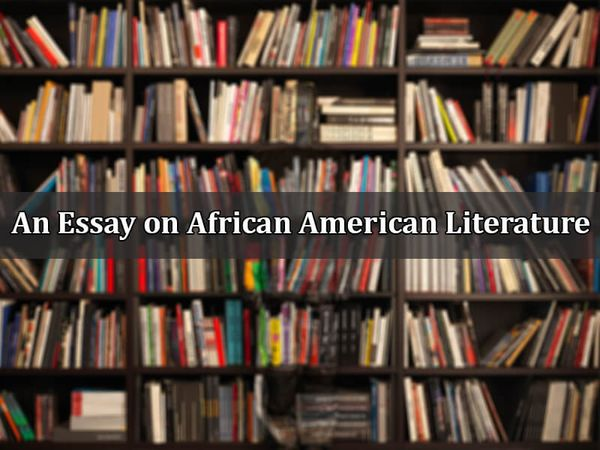 An Essay on African American Literature